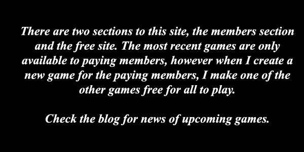 vdategames.com - members section